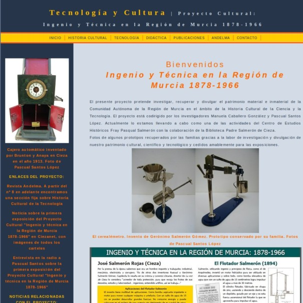PaginaWebTecnologiaCultura