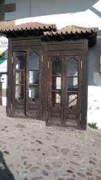 Singulares cabinas artesanales en Candelario (Salamanca). Foto Pablo julio 2018