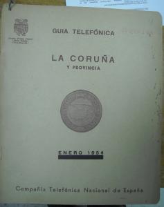 Guia La Coruña 1954