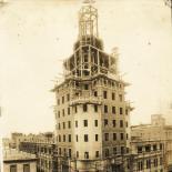 fase final del edificio, 1926-1927