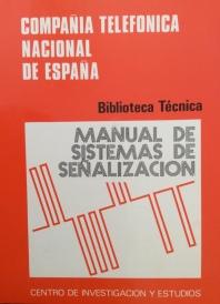 """Portada del """"Manual de Sistemas de Señalización"""" publicado por el CIE en 1977"""