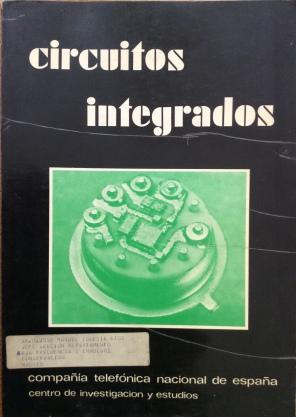 """Portada de """"Circuitos integrados"""" publicado por el CIE en enero de 1973"""