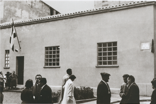 Edificio de la calle Barrionuevo 1956