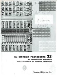 Portada El Sistema Pentaconta 32