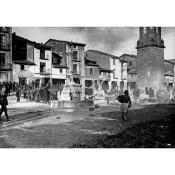 Plaza de Ayerbe. Foto publicada en ABC el 14 de diciembre de 1930