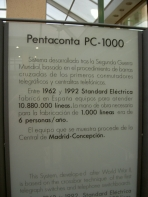 Maqueta Pentaconta 1000 Panel descripción