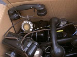 Aparatos Telefónicos años 20 y 30