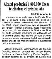 Noticia aparecida en el ABC el 24 de diciembre de 1988.