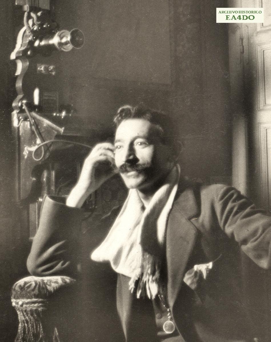 Un teléfono del Madrid de 1919...