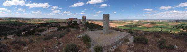 Panorámica del Cerro Gollino (Toledo) desde el Vértice Geodésico. Autor Paco T (wikiloc)