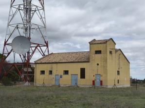 Estación de Radio de Meneses (Cuenca). Mayo 2019. Foto propia.