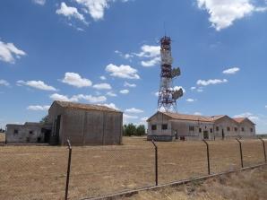 Estación de Radio de Ocaña (Toledo). Junio 2019. Foto propia.