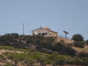 Cerro Gollino (Toledo). Edificio antigua estación de Radio.