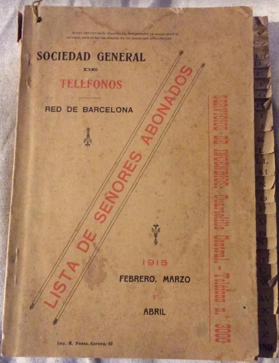 Guia Barcelona 1915
