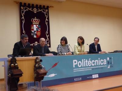 Acto inaugural Salon de Actos Escuela Politécnica Cuenca UCLM 22 nov 2019