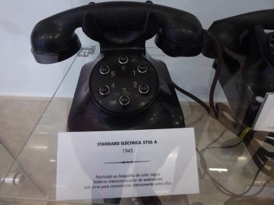 Intercomunicador Standard Eléctrica 5726 A Seis extensiones Baquelita 1950