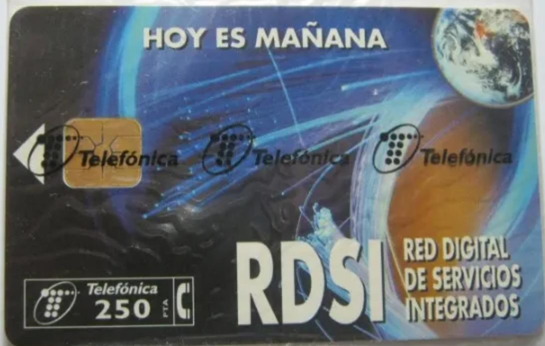 Tarjeta RDSI