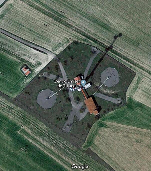 Centro emisor TV Trijueque Google Maps