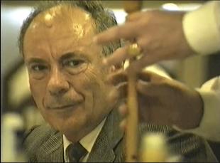 Pedro Martinez en su jubilación 19 nov. 1994