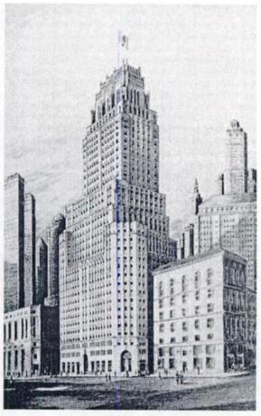 Edificio sede de la ITT en 67 Broad Street New York (tomado del libro I.T.T. The Management of Opportunity de Robert Sobel 1982