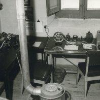 Estación telegráfica. 1976. Fuente, Museo Postal y Telegráfico.