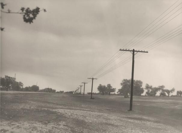 Línea telefónica con 4 circuitos entre El Burgo de Osma y Soria. 1967