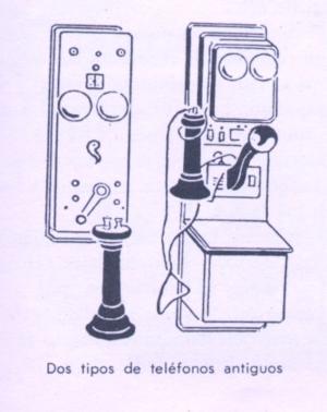 Teléfonoa antiguos