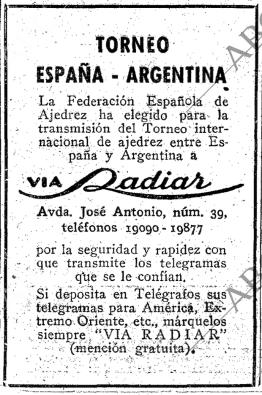 Anuncio ABC 11 octubre 1946 pag 23