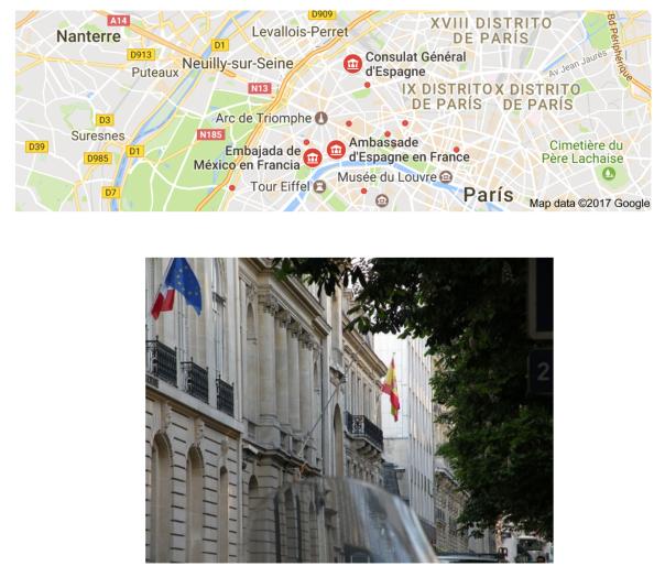 Embajada París