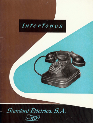 Portada Interfonos SESA 1959, Cortesía Eduard Amorós