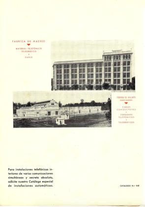 Interfonos 1930 2