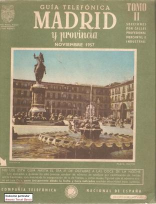 1957 Madrid anverso