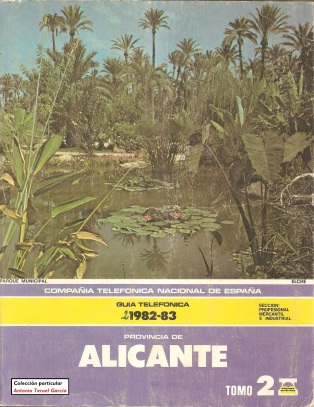 1982 Alicante anverso