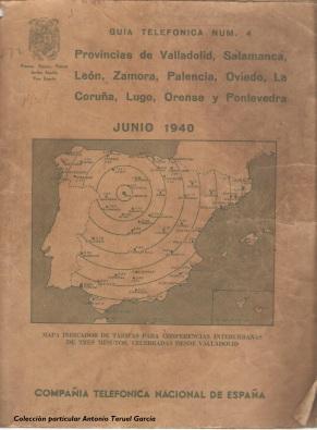 Galicia, Asturias y la región de León 1940
