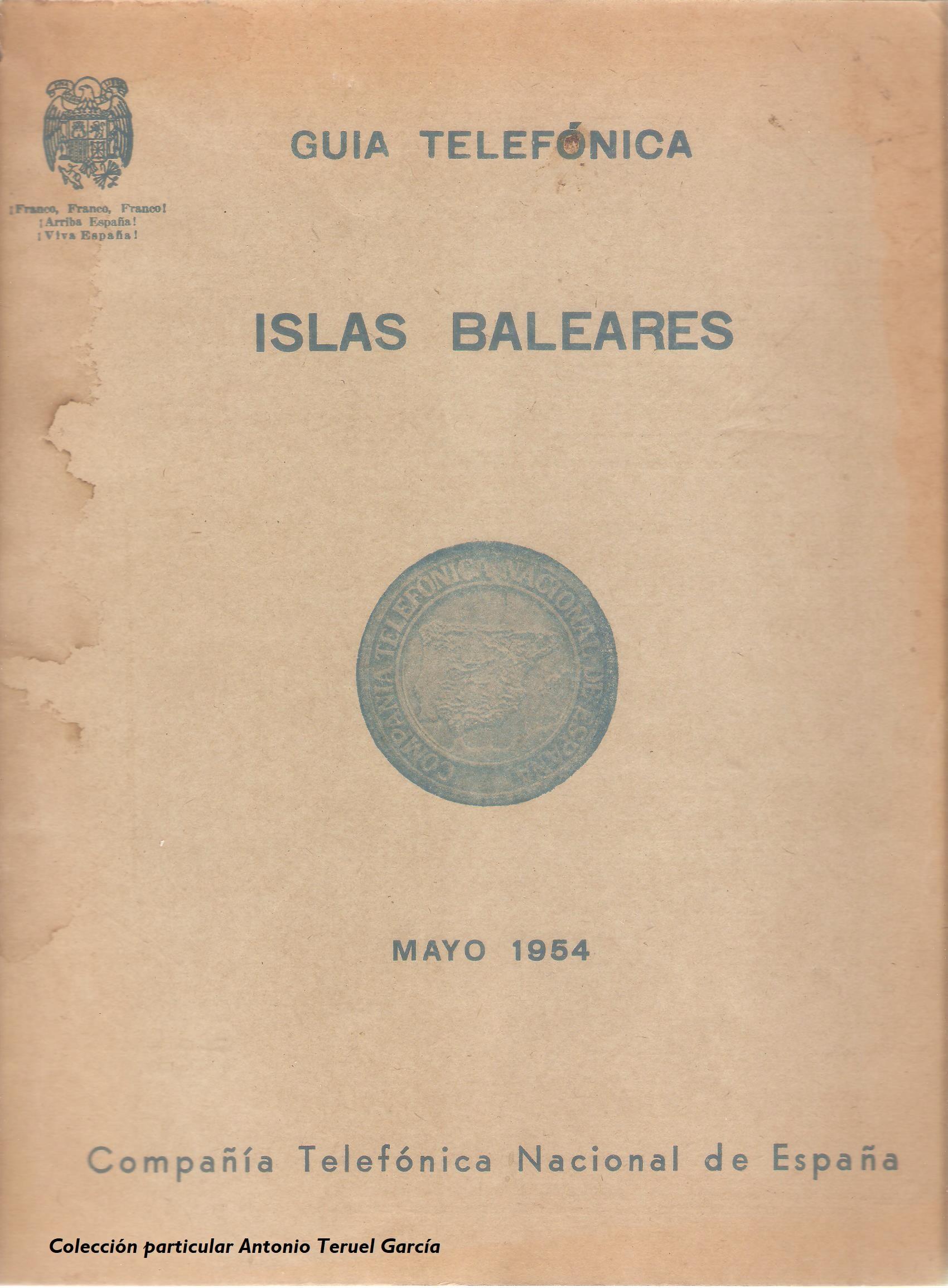 1954 Illes Balears