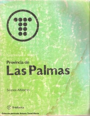1986 Palmas Las buena
